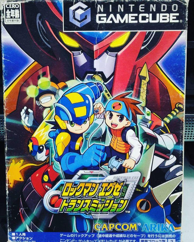 You'd like this one by kirby0425 #retrogames #microhobbit (o) http://ift.tt/1OEik7h #gamecube #ゲームキューブ #megamanexe#ロックマンエグゼ#megaman #ロックマン 108円で購入...アクションゲームとのことですが...どんな感じなんだろうか...?