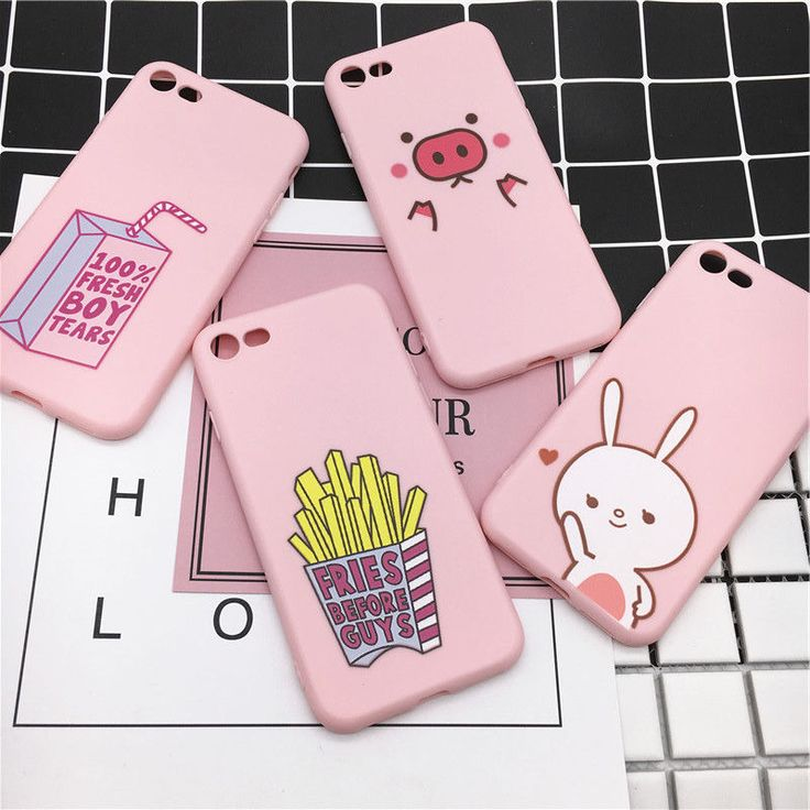 Cute cartoon funny animals silicone soft phone case cover