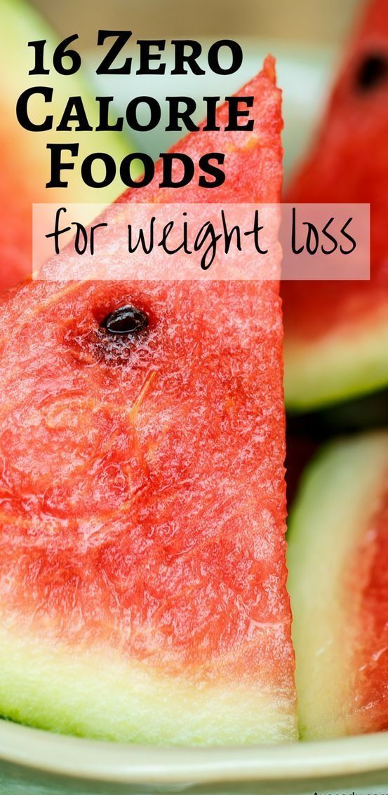 16 Zero Calorie Foods For Weight Loss