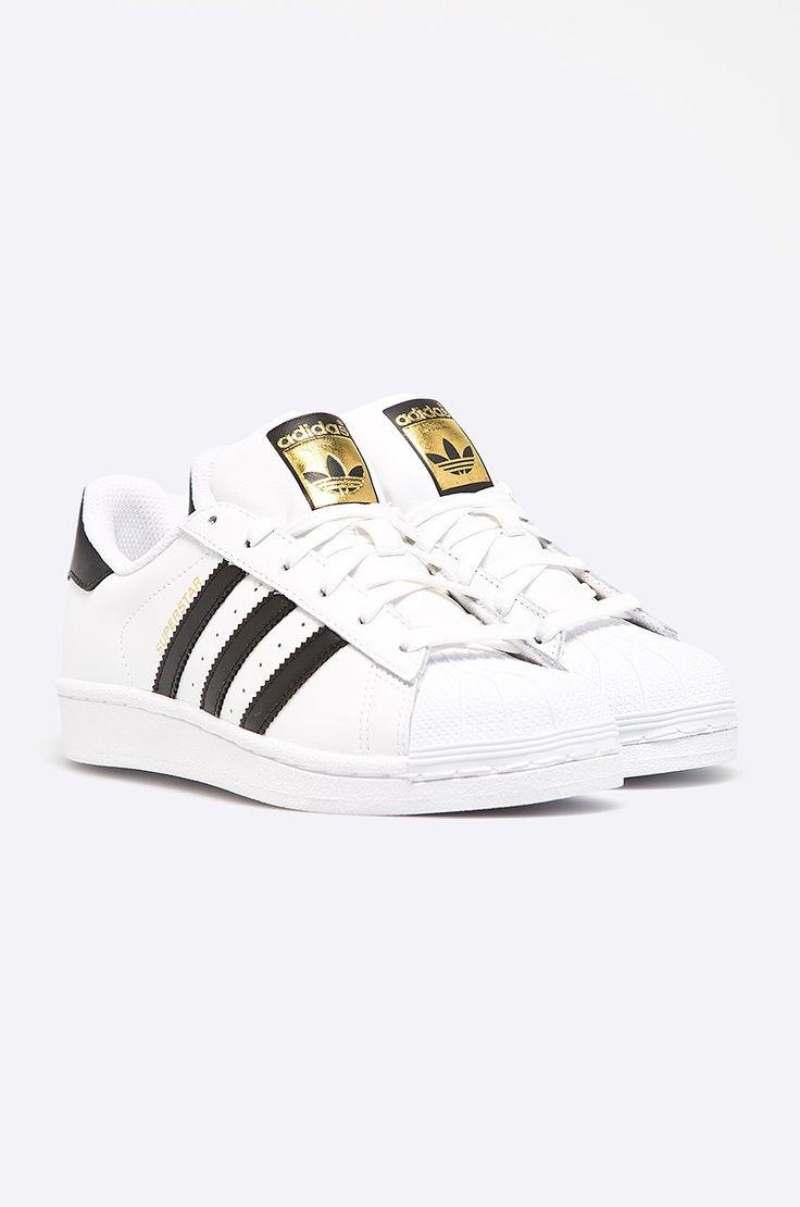 adidas Originals - Buty Superstar biały w ANSWEAR.com | wysyłka w 24h | darmowa dostawa i zwrot od 150 zł
