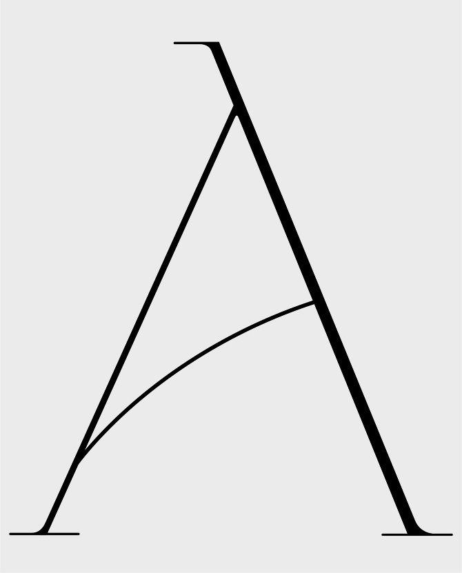 Inspiración para el emblema de la Asociación Nacional Amazonas de España TYPEFACE DESIGN - Bethany Sandberg
