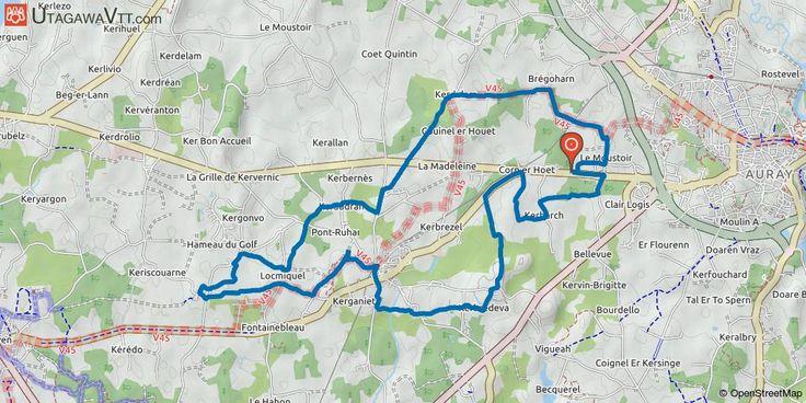 [Morbihan] Ploemel : Parcours bleu N°1 Relativement facile avec un dénivelé positif moyen de 120 mètres, ce circuit VTT de 23 km nous entraîne dans une balade de 2h (1h30 pour les plus aguerris) à la découverte des nombreux hameaux pittoresques que compte la commune de Ploemel, avant de nous faire traverser sa campagne verdoyante. En effet, le tracé propose une belle randonnée autour de la commune et permet de visiter les magnifiques hameaux de Keraudran, Locmiquel et Saint-Cado ou encore…