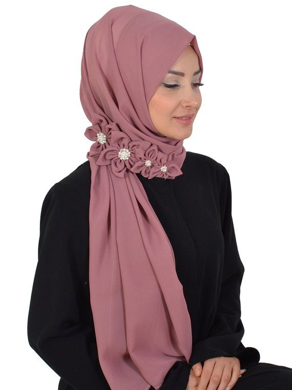 Shawl Code: AS-0007 Muslim Women Hijab Scarf by HAZIRTURBAN