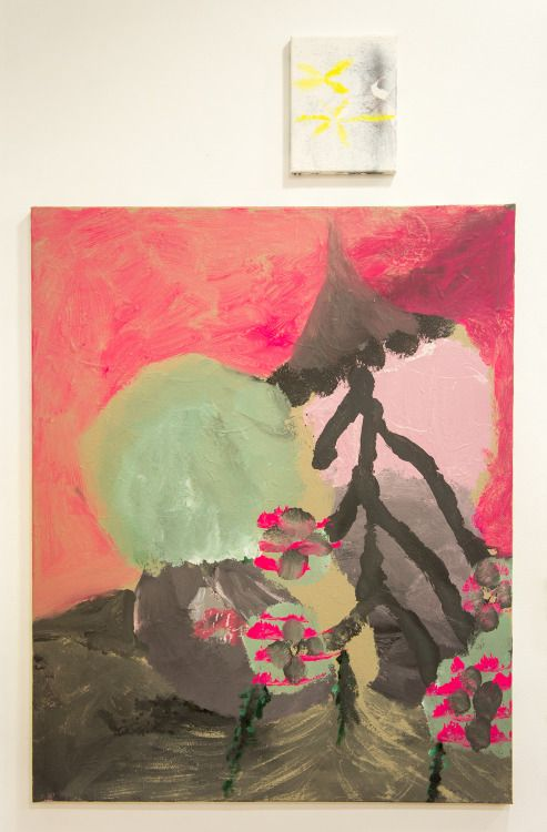 paintingsinlove:  Eduardo Infante Alan Moore.2012/2015. Acrylic, oil and gesso on canvas.130 x 80 cm.