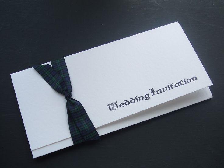 tartan wedding invitations - Google Search