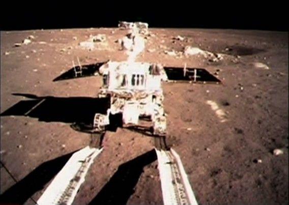 Het ruimtevaartuig van China landde gisteren al veilig op de maan, nu heeft het ook vanaf de maan beelden opgestuurd. Het is 37 jaar geleden...