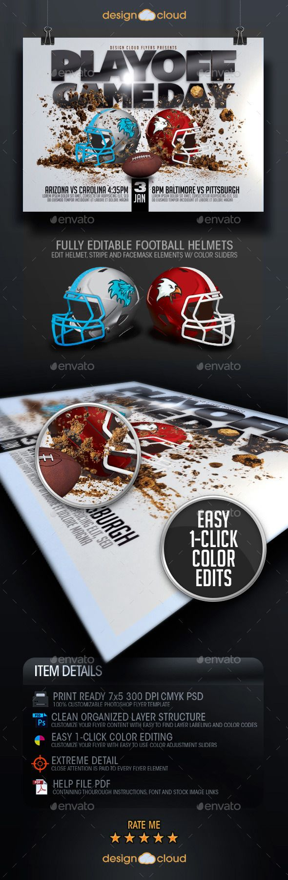 Best Football Flyer Templates Psd Images On   Flyer