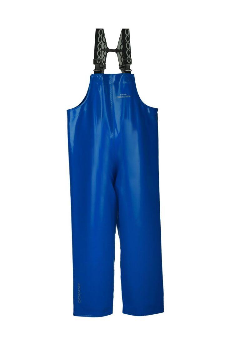 SPODNIE OGRODNICZKI WODOOCHRONNE Model: 3006  Spodnie ogrodniczki produkowane z bardzo wytrzymałej tkaniny Opalo.Tkanina ta charakteryzuje się wysoką odpornością na słoną wodę. Produkt dedykowany jest szczególnie pracownikom wykonującym ciężkie prace rybackie w ekstremalnie trudnych warunkach na morzu, zapewniając ochronę przed silnym wiatrem i deszczem.