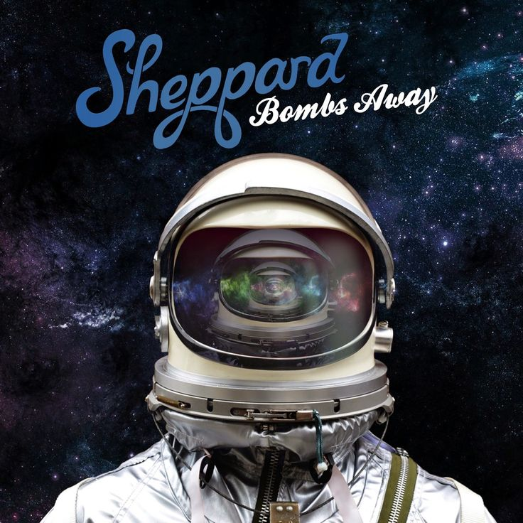 """Album Cover For """"Bombs Away,"""" By Sheppard"""