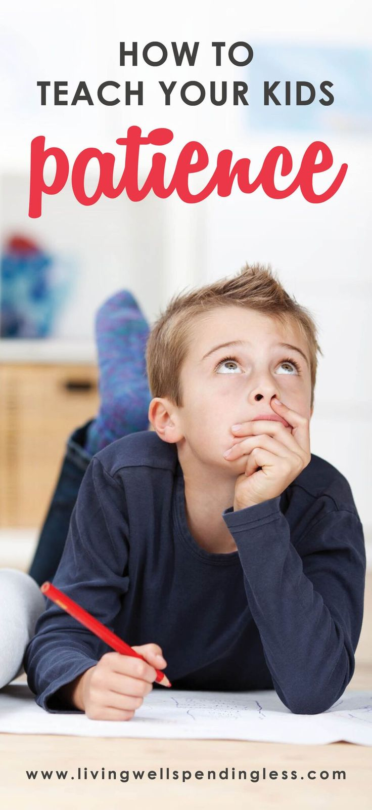 Teach Your Kids Patience | Virtuous Children | Virtues in the Home | Patience | Instant Gratification via @lwsl