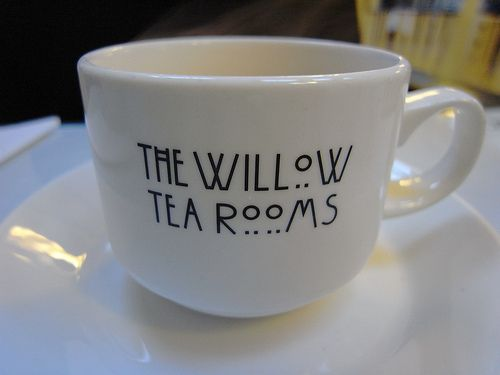From the famous Willow Tea Rooms, Glasgow, designed by internationally renowned architect Charles Rennie Mackintosh.