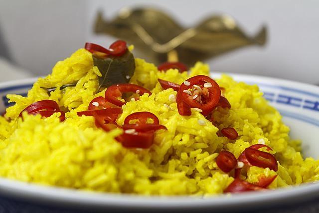 Nasi kuning – indonesischer gelber Reis