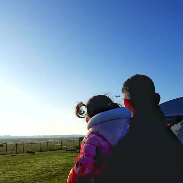 One of our NY resolutions is to travel more as a family in 2017. We tested the waters this morning chasing planes at the runway park and our little explorer loved every second :airplane_departure: What are your resolutions?