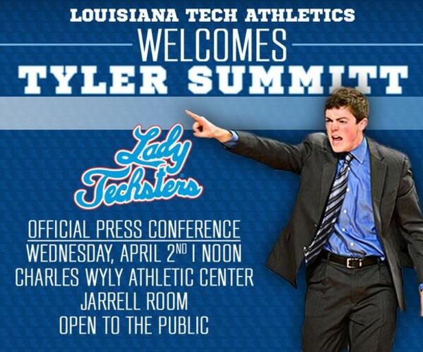 Tyler Summitt Now Head Coach at LA Tech
