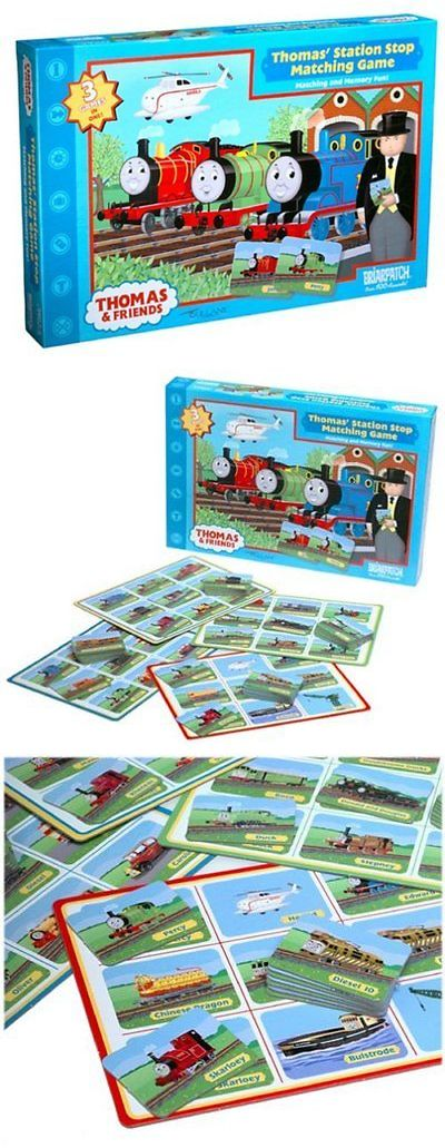 Games 146109: Thomas And Friends Station Stop Matching Game -> BUY IT NOW ONLY: $46.95 on eBay!