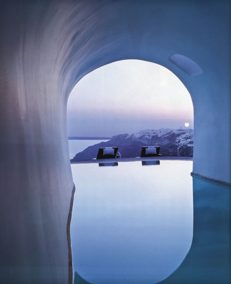 Perivolas Hotel Oia, Santorini, Greece designed by Costis Psychas