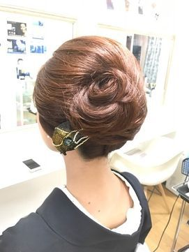 和装☆夜会巻きアレンジ☆/Pasha 【パシャ】をご紹介。2017年春の最新ヘアスタイルを100万点以上掲載!ミディアム、ショート、ボブなど豊富な条件でヘアスタイル・髪型・アレンジをチェック。