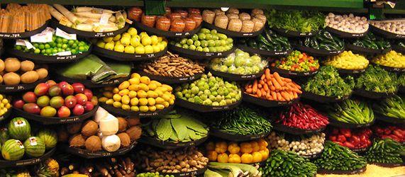 Produce side wall