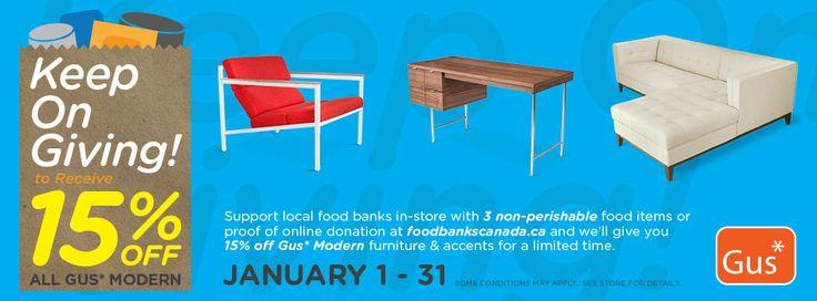 duurzaamheid, mvo, solidariteit : doneer 3 non-perishable dingen voor de voedselbank en je krijgt 10% korting