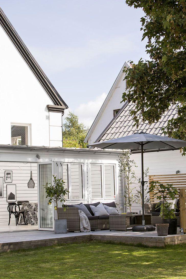 Прекрасный современный загородный дом в Швеции (172 кв. м) | Пуфик - блог о дизайне интерьера