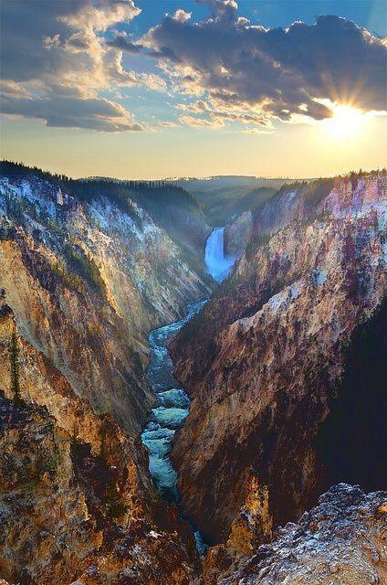 Yellowstone National Park,  Wyoming, #USA