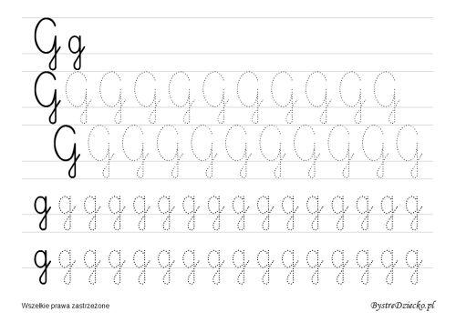 Nauka pisania dla dzieci – szablony z dużą czcionką « Bystre Dziecko