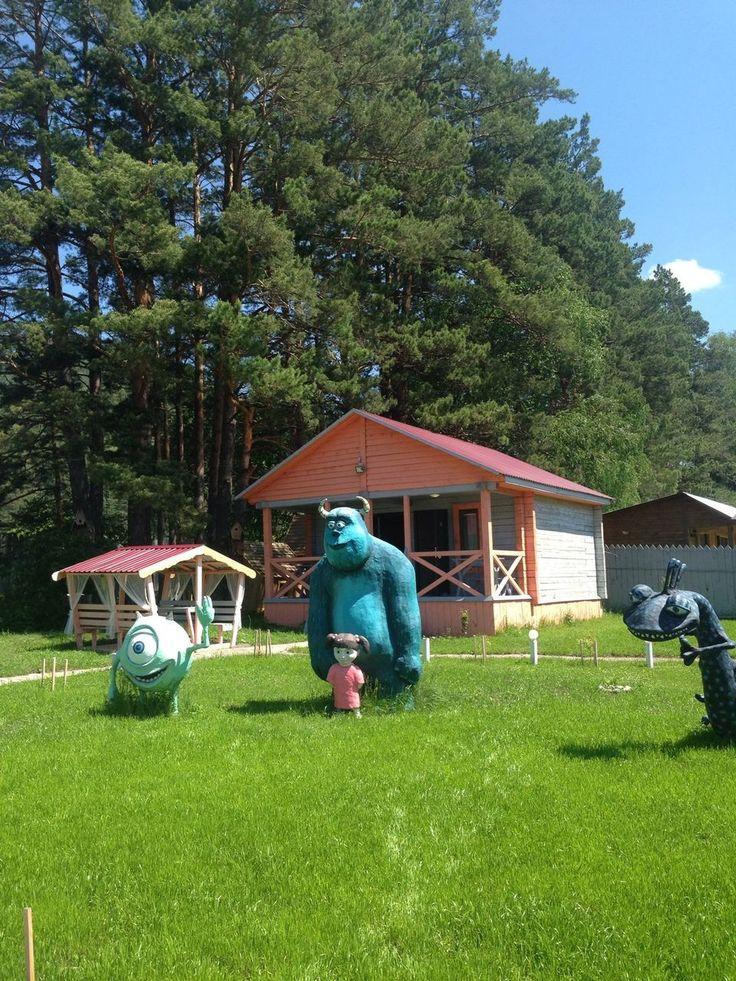 Семейная база отдыха в Горном Алтае