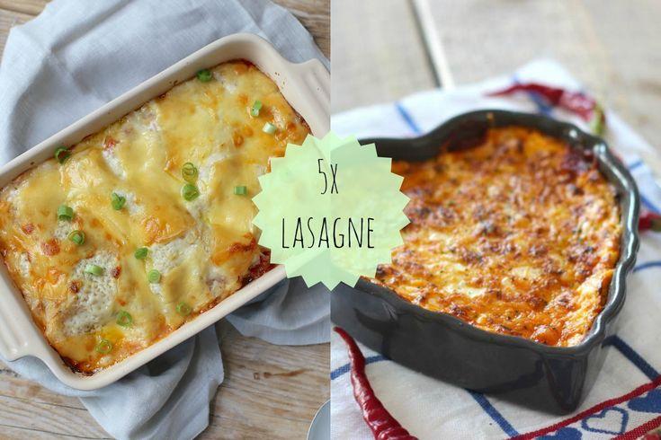 de lekkerste lasagne recepten