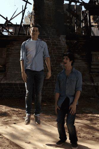 Dylan and Scott cuteness gif