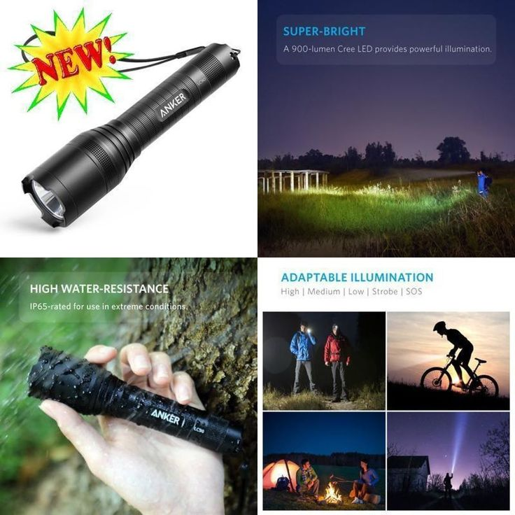 Anker Super Bright Tactical Flashlight Rechargeable (18650 Battery Included) Z http://ift.tt/2oXRPtI #Sporting #Goods #Outdoor #Sports #Camping #Hiking #Flashlights #Lanterns #Lights #Flashlights #Anker #Super #Bright #Tactical #Flashlight #Rechargeable #Battery #Included #pukastores