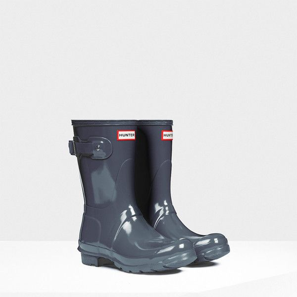 The Original Short Gloss rain boot packs all the classic style and function  of its tall. Short Hunter ...