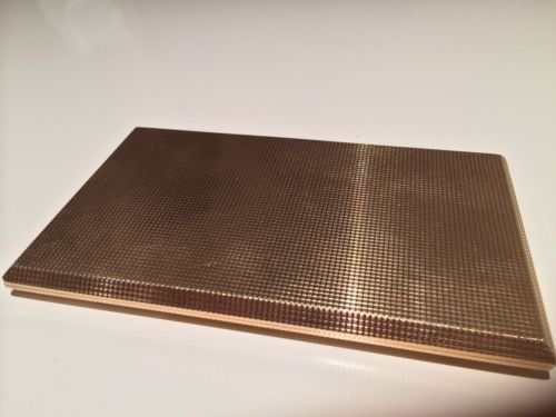 9ct Solid Gold Cigarette Case (immaculate)