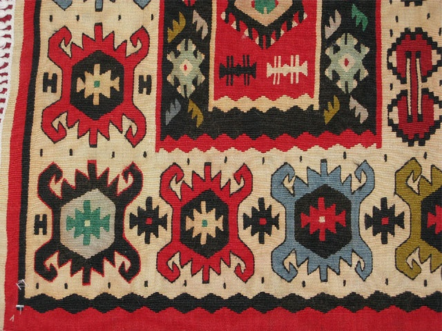 Kilim Rugs from Pirot, Serbia