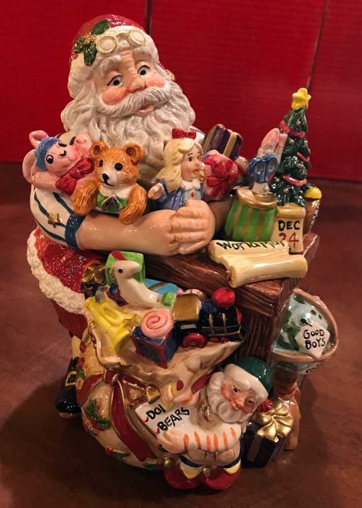 Fritz And Floyd Collector/'s Series Santa/'s Magic Workshop