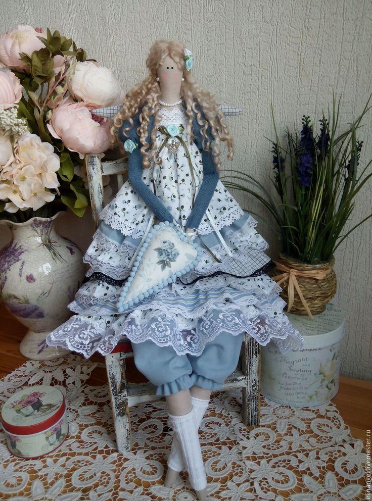 Купить Ангел Тильда ручной работы - кукла ручной работы, кукла в подарок, кукла интерьерная