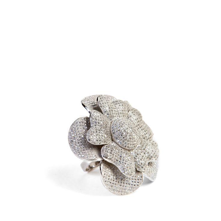#Ultimaedizione Zircons' bloom #ring. Love Silver #Jewel