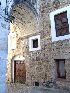 Arco Cavalcavia, Segura de la Sierra. Jaén.
