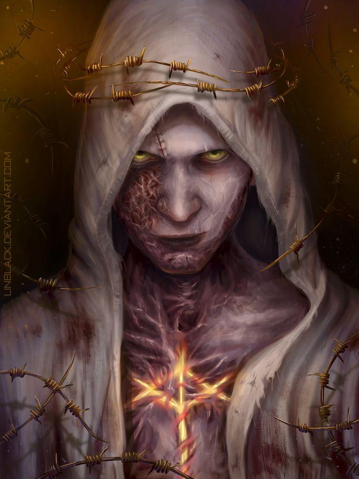 Ruvik face - The Evil Within by Linblack.deviantart.com on @DeviantArt