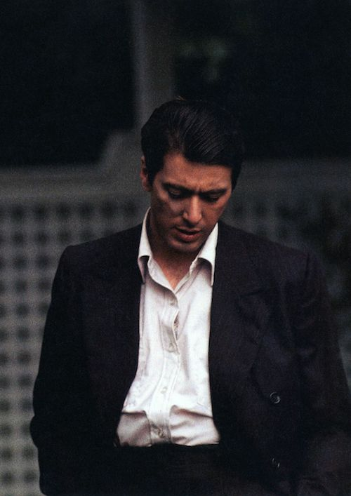 Al Pacino in The Godfather (1972)
