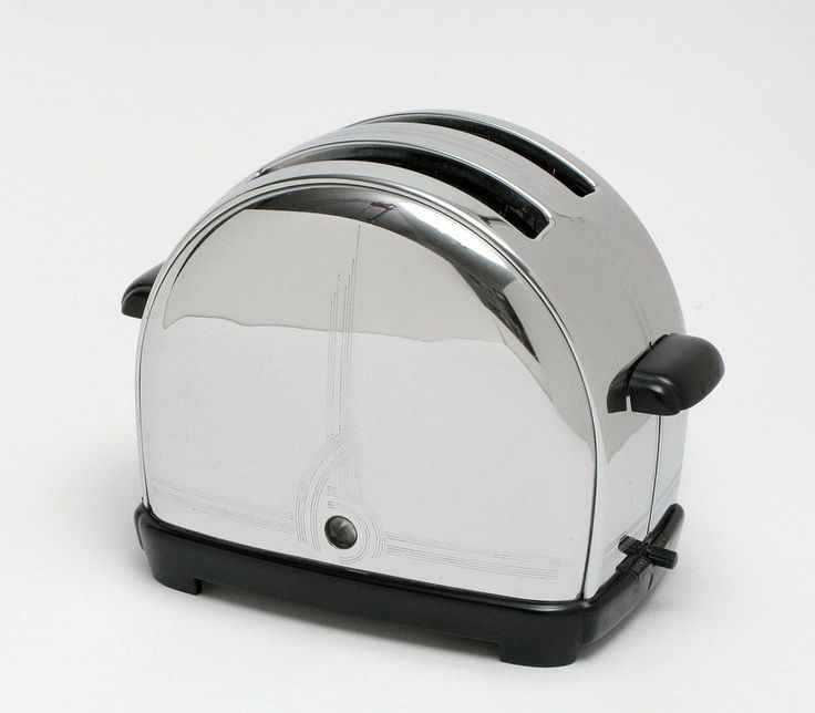 His toaster is a great example of the smoothness in the line and the cleanness of the final product