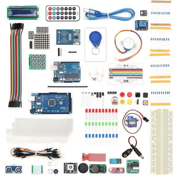 UNO R3 Kit de module de capteur LCD1602 hc-SR04 pour Arduino Mega 2560 avec