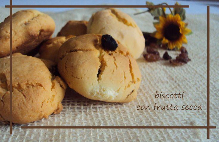 #biscotti con frutta secca #senzaglutine e senza burro #light