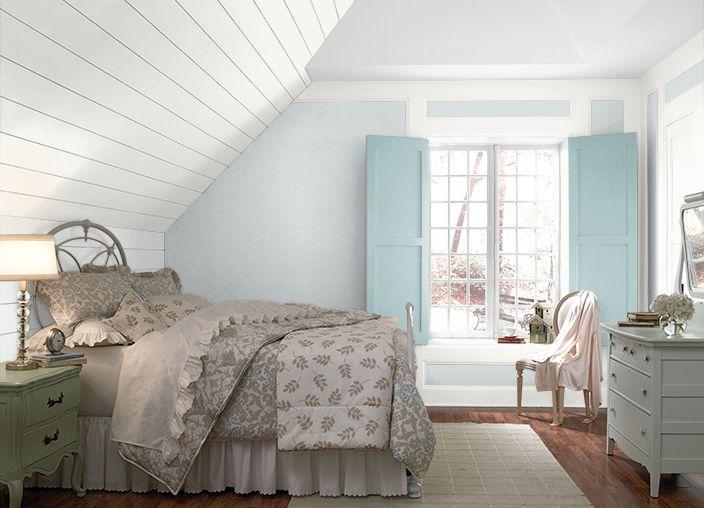 Bedroom Inspiration Grey Walls
