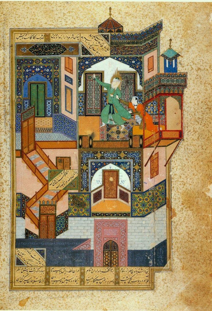 Yusef and Zuleykha, Behzad, 1488, Herat, Afghanistan http://en.wikipedia.org/wiki/Behzad