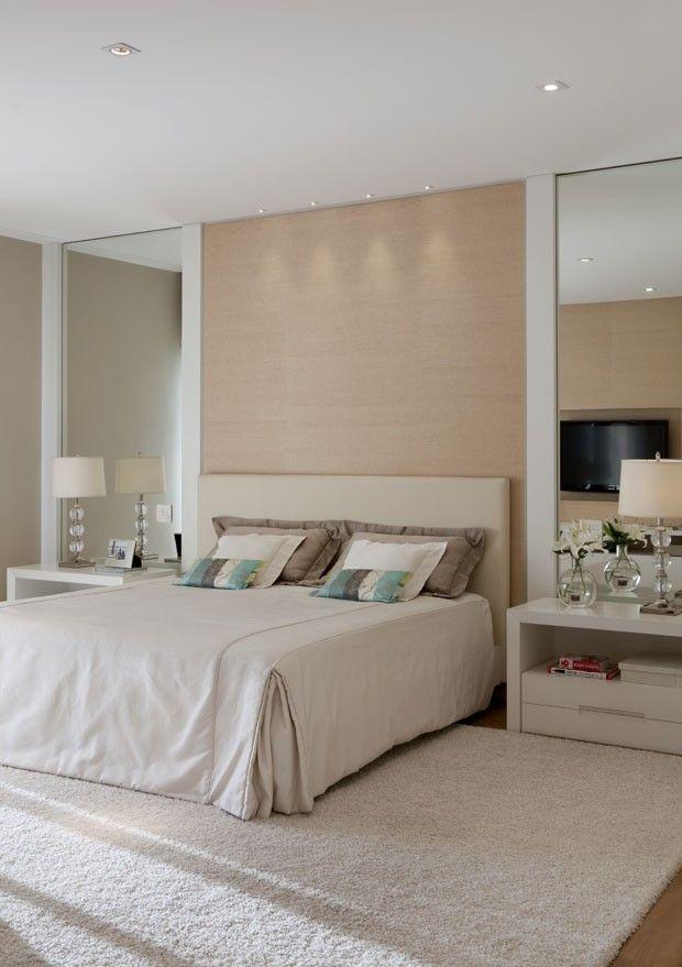 Apartamento sóbrio e claro (Foto: Divulgação). Fernanda Moreira Lima.