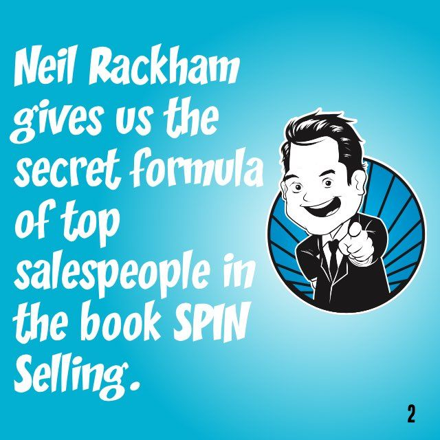 SPIN Selling in 60 Seconds. Want the 12-minute version? Get a free Readitfor.me account.