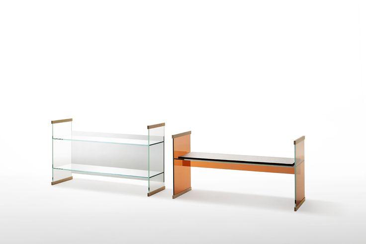 Diapositive Bookcase And Bench Design Ronan Erwan