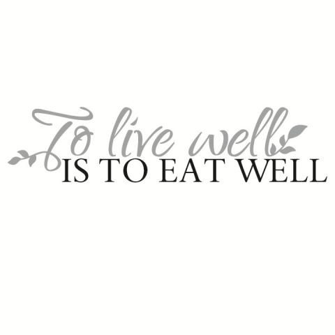 To Live Well Is To Eat Well #spreadyourflavour
