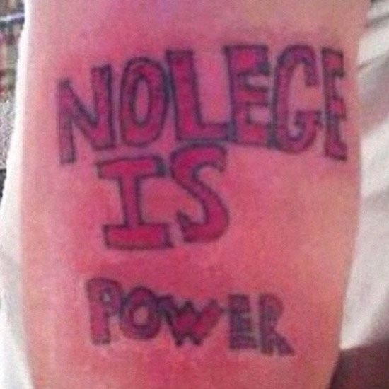 Dumbest Tattoo Goals Of 2015 (10 Photos)