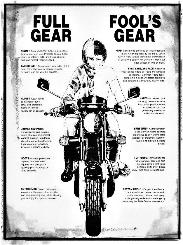 We know that it is summer time now and getting hot but all riders need to be careful to still protect their body's from possible crashes! #watchoutforbikers #looktwice #chopperexchange #bikerlife